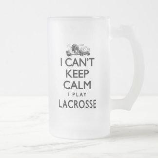 No puede guardar LaCrosse tranquilo Taza De Cristal