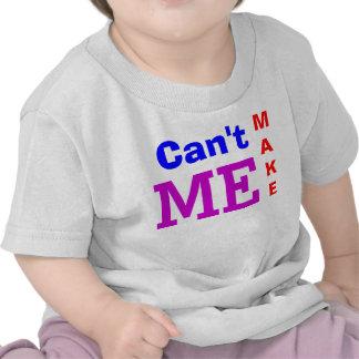 No puede hacerme la camiseta