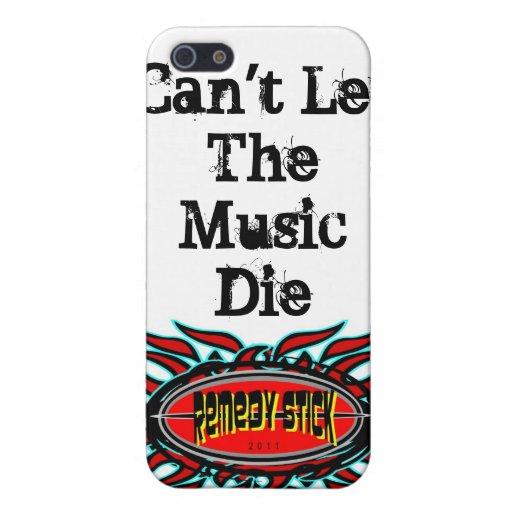 No puede LetThe MusicDie iPhone 5 Carcasas