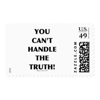 No puede manejar la verdad sello