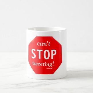 ¡No puede PARAR el piar! Tazas de café
