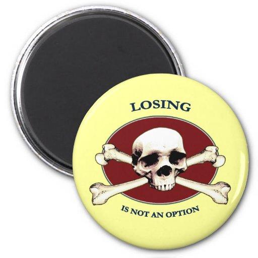 No puede perder el cráneo del pirata imán