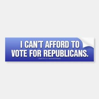 No puede permitirse a republicanos etiqueta de parachoque