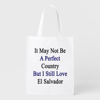No puede ser un país perfecto pero todavía amo E Bolsas Para La Compra