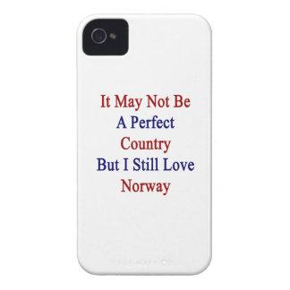 No puede ser un país perfecto pero todavía amo N iPhone 4 Case-Mate Cobertura
