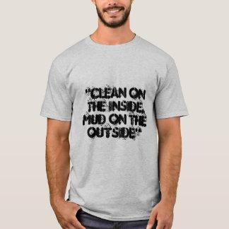 """""""No puede ver la camiseta de mi trabajo de la"""
