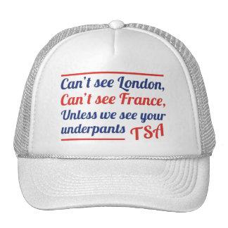 No puede ver Londres Gorras