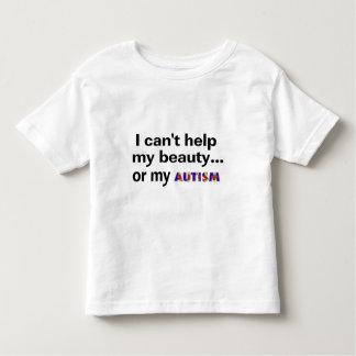 No puedo ayudar a mi belleza o a mi autismo poleras
