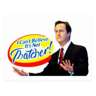 ¡No puedo creer que no es Thatcher! Tarjeta Postal