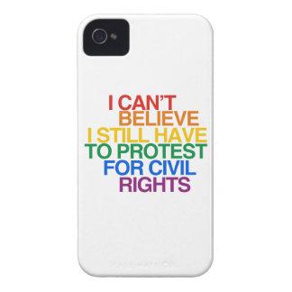 NO PUEDO CREER QUE TODAVÍA TENGO QUE PROTESTAR Case-Mate iPhone 4 COBERTURAS