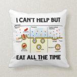 No puedo dejar comer todo el tiempo (Endocytosis) Almohada