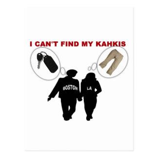 No puedo encontrar mis llaves de los pantalones de postales
