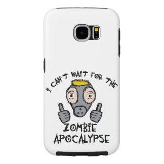 ¡No puedo esperar la APOCALIPSIS del ZOMBI! Funda Samsung Galaxy S6