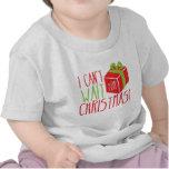 ¡No puedo esperar navidad! Camiseta