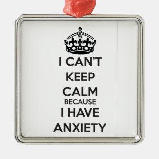 No puedo guardar calma porque tengo ansiedad adorno de reyes