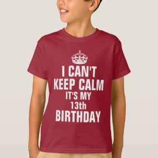 No puedo guardar calma que es mi décimotercero playera