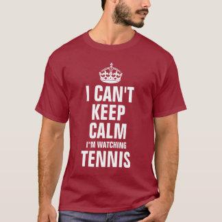 No puedo guardar calma que estoy mirando tenis playera
