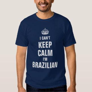 No puedo guardar calma que soy brasileño poleras