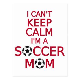 No puedo guardar calma, yo soy una mamá del fútbol tarjetas postales