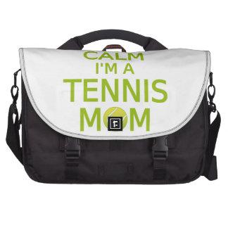 No puedo guardar calma, yo soy una mamá del tenis bolsas para ordenador