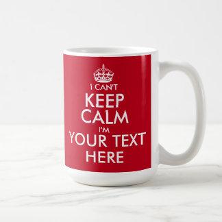 No puedo guardar el texto adaptable tranquilo de taza básica blanca