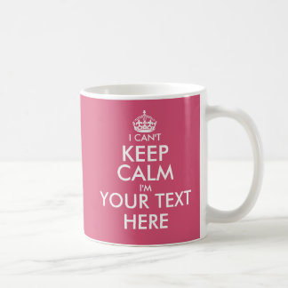 No puedo guardar la taza de café de encargo el |