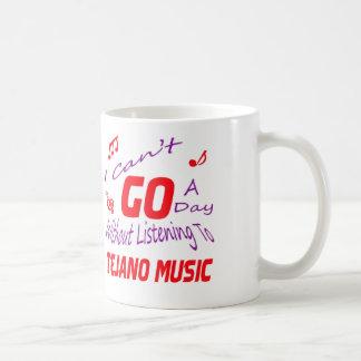 No puedo ir un día sin escuchar la música de taza de café