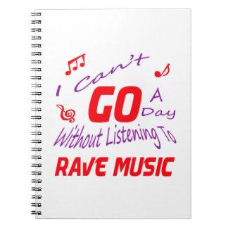 No puedo ir un día sin escuchar la música del spiral notebook