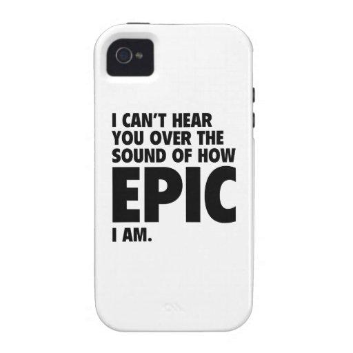 No puedo oírle sobre el sonido de cómo es la vibe iPhone 4 carcasa