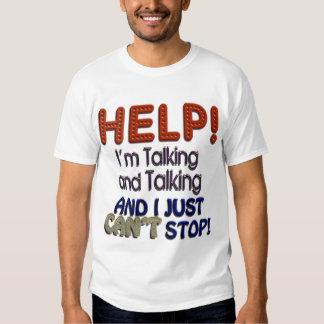 No puedo parar el hablar poleras