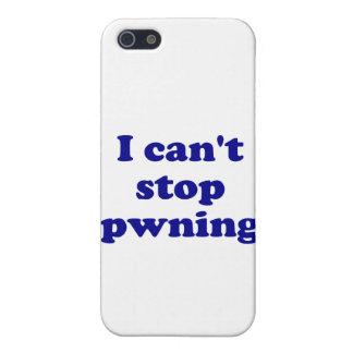 No puedo parar el pwning iPhone 5 carcasas