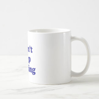 No puedo parar el pwning tazas de café