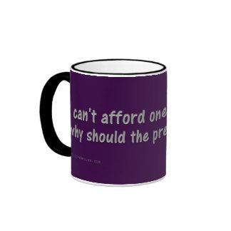 No puedo permitirme tardar vacaciones más tazas de café