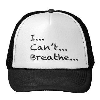 No puedo respirar gorras