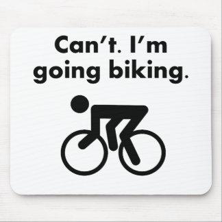 No puedo soy el Biking que va Tapetes De Raton