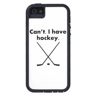 No puedo tener hockey iPhone 5 protectores