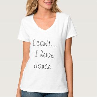 No puedo… Tengo camiseta de la danza Remeras