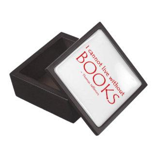 No puedo vivir sin el premio Giftbox de los libros