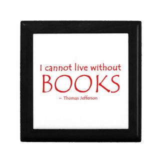 No puedo vivir sin los libros Giftbox