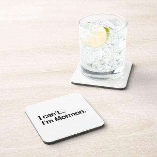 NO PUEDO, yo soy MORMON.png Posavasos De Bebida
