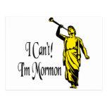 No puedo, yo soy mormón postal