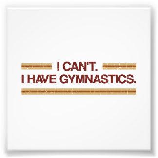 No puedo yo tener gimnasia fotografía