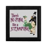 No Punk like a Steampunk Keepsake Box