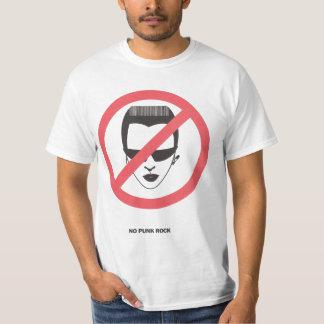 No Punk Rock T Shirt