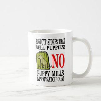 No Puppy Mills Coffee or Pencil Cup