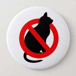 No Pussy Pinback Button