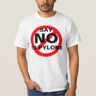 NO PYLONS T-Shirt