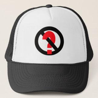 No Questions Allowed Trucker Hat