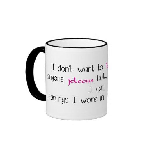 No quiera jactarse la taza