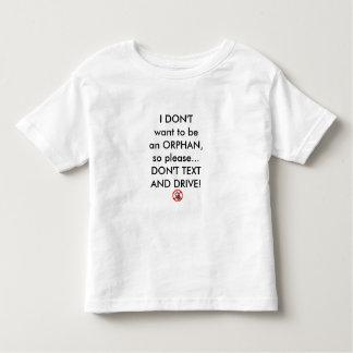 No quiero ser un huérfano. Por: Celeste remilgado Playera De Bebé